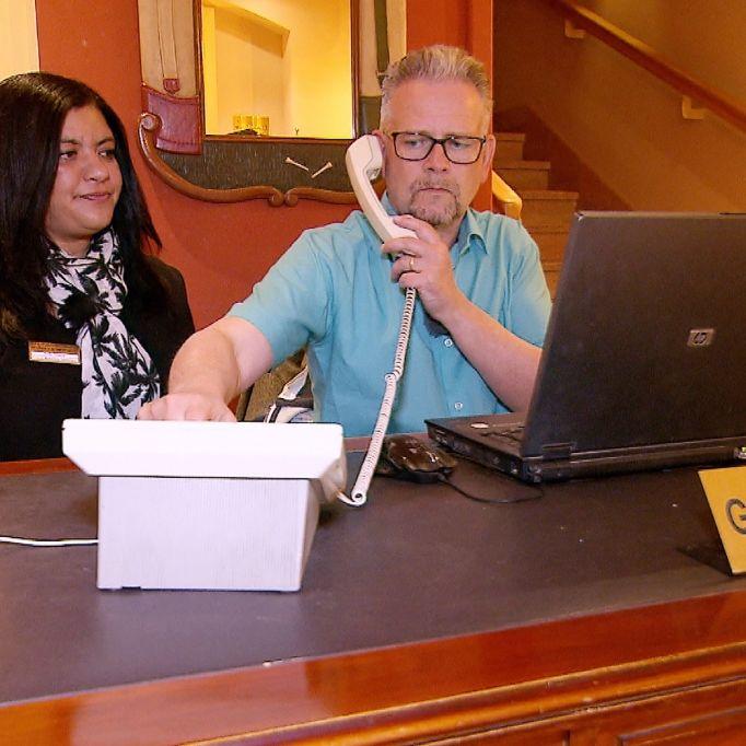 Vom Boss zum Praktikant - FTI-Chef Schiller in Ägypten (Foto)