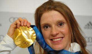 Die Wintersportlerin Evi Sachenbacher-Stehle erhielt zahlreiche Auszeichnungen. (Foto)