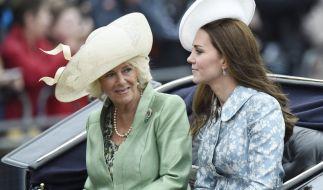 Gibt es Streit bei Camilla und Kate? (Foto)