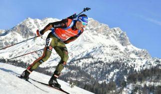Heute müssen die Herren bei der Biathlon-WM in Hochfilzen zeigen, wer die 20 Kilometer am schnellsten bewätigen kann. (Foto)