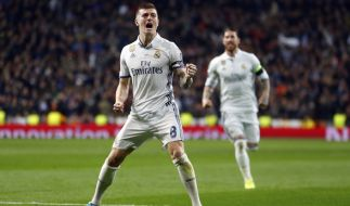 Kroos-Treffer bringt Real gegen Neapel auf Viertelfinal-Kurs (Foto)