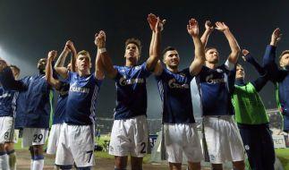 Der FC Schalke 04 kann in der Europa-League nun auf ein Weiterkommen hoffen. (Foto)