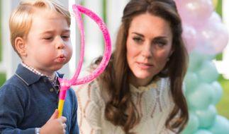 Herzogin Kate eine überforderte Mutter? (Foto)