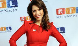 Moderatorin Annett Möller tauscht demnächst ihren Platz im RTL-Nachrichtenstudio gegen Babyfläschchen ein: Die 38-Jährige ist schwanger! (Foto)