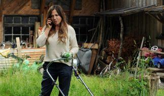 Dorfhelferin Katja Baumann (Simone Thomalla) hat alle Hände voll zu tun. (Foto)