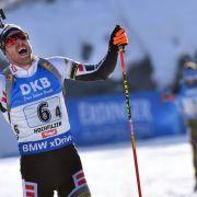 WM-Gold für Simon Schempp beim Massenstart in Hochfilzen (Foto)