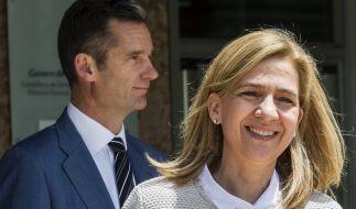 Cristina ist im Korruptionsprozess auf Mallorca noch einmal glimpflich davongekommen. Für ihren Mann Iñaki Urdangarin sieht es anders aus: Der Ex-Handballstar wurde wegen Millionenbetrugs schuldig gesprochen. (Foto)