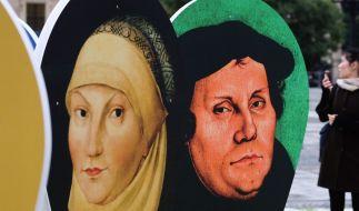 Ohne seine Ehefrau hätte Luther sein offenes Haus nicht unterhalten können. (Foto)