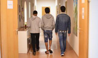 Minderjährige Migranten werden in staatlicher Fürsorge betreut. (Foto)