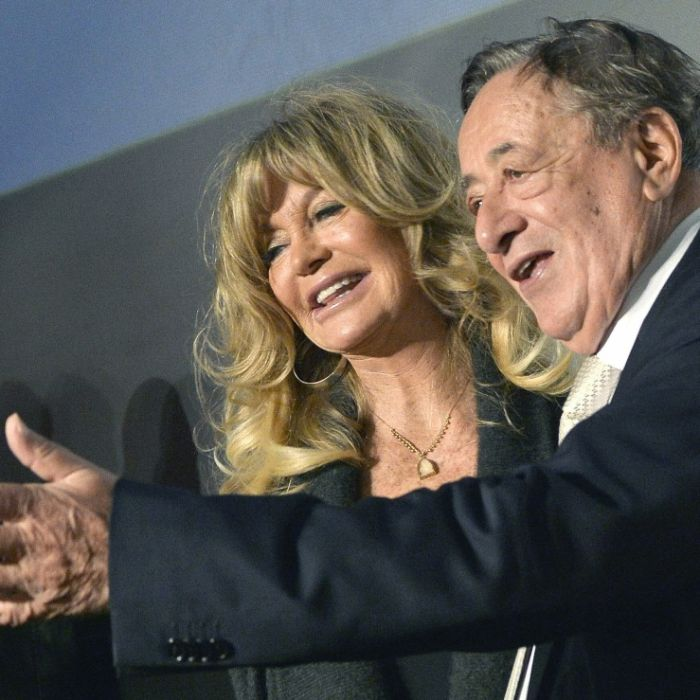 Richard Lugner mit Goldie Hawn beim Wiener Opernball im Glück (Foto)
