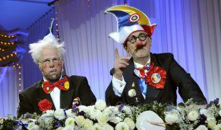 """Das """"Kokolores""""-Duo Martin Heininger und Christian Schier gibt Gas. (Foto)"""
