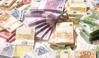 Deutschland hat im vergangenen Jahr einen Haushaltsüberschuss in Milliardenhöhe erwirtschaftet. (Foto)