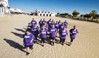 In der heißen Sonne Andalusiens wollen die Kandidaten ihr Fett wegkämpfen. (Foto)