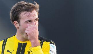 Mario Götze muss eine Zwangspause einlegen. (Foto)