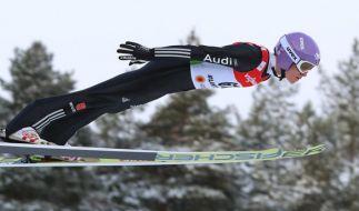 DSV-Springer Andreas Wellinger schnappte sich die Silbermedaille. (Foto)