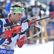 Erik Lesser beim Sprint-Weltcup nur Fünfter (Foto)