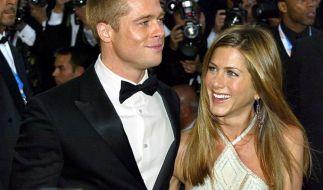 Das einstige Hollywood-Traumpaar: Brad Pitt und Jennifer Aniston sollen wieder Kontakt zueinander haben. (Foto)