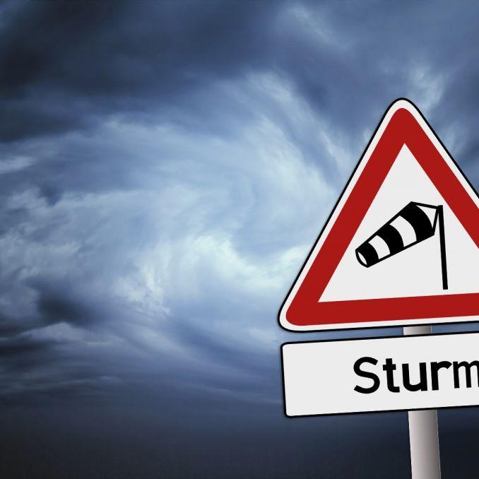 """Unwetterwarnung! Sturmtief """"Wilfried"""" fegt über Deutschland hinweg (Foto)"""