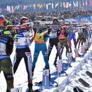 Deutsche Biathleten laufen in Staffel auf Rang sechs (Foto)