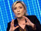 Das EU-Parlament hat die Immunität von Front-National-Chefin Marine Le Pen aufgehoben. (Foto)