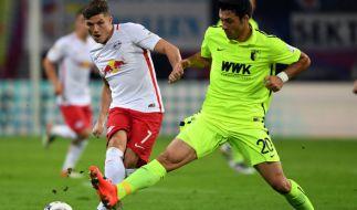 RB Leipzig trifft am 23. Spieltag auf den FC Augsburg. (Foto)