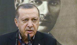 Die von Erdogan geplante Volksabstimmung in der Türkei für zu Spannungen mit Deutschland. (Foto)