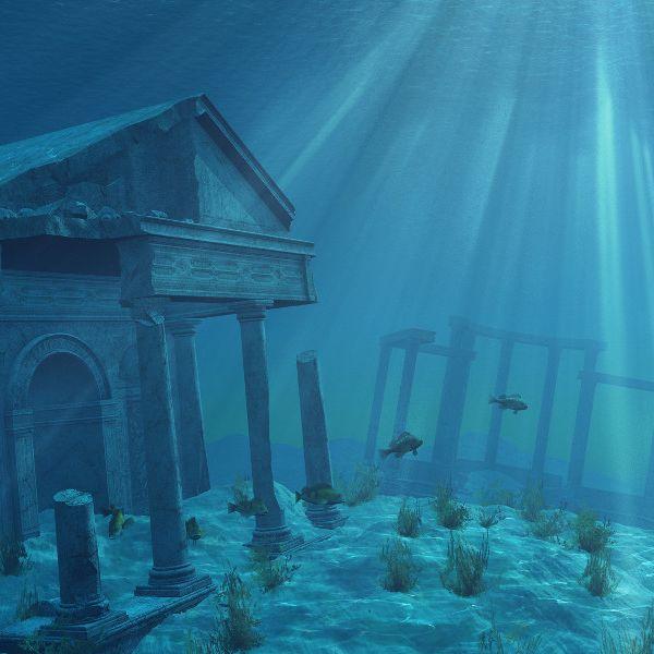 Zeigt Google Maps HIER die Ruinen von Atlantis? (Foto)