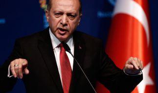 Der türkische Präsident Erdogan vergleicht die deutsche Politik mit dem Nationalsozialismus. (Foto)