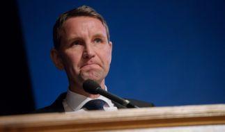 Die umstrittene Dresdner Rede von Björn Höcke bleibt strafrechtlich folgenlos. (Foto)