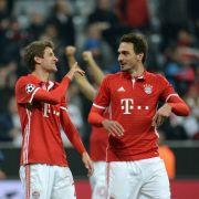 So fies spottet Thomas Müller über Mats Hummels (Foto)