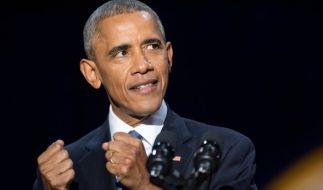 Zu jung für die Politiker-Rente: Barack Obama steht vor dem Comeback. (Foto)