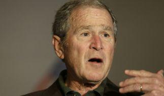 Hat sich George Bush bei Jimmy Kimmel verplappert? (Foto)