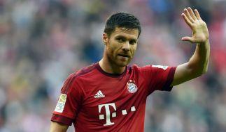 Bayern-Star Xabi Alonso hängt die Fußballschuhe an den Nagel. Im Sommer wird er seine Karriere beenden. (Foto)