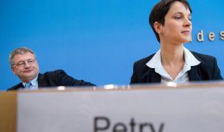 Frauke Petry weiß, wie man Aufmerksamkeit erzeugt. (Foto)