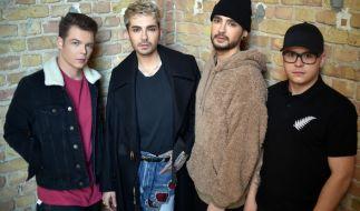 """Die Musiker der Band Tokio Hotel (Georg Listing , Bill Kaulitz, Tom Kaulitz und Gustav Schäfer) veröffentlichten ihr neuestes Album """"Dream Machine"""". (Foto)"""