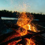 Obdachloser wird lebendig verbrannt (Foto)