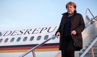 Bundeskanzlerin Merkel reist am 13. März zu ihrem ersten Treffen mit US-Präsident Donald Trump nach Washington. (Foto)