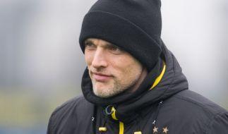 """BVB-Coach Thomas Tuchel sieht gegen Lotte ein """"hartes Stück Arbeit"""" auf seine Mannschaft zukommen. (Foto)"""