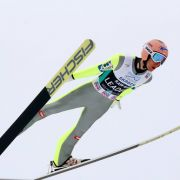 Sturmböen in Lillehammer: Skisprung-Weltcup abgebrochen (Foto)