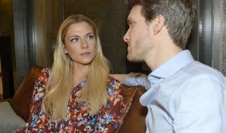 Die Beziehung zwischen Sunny (Valentina Pahde) und Felix (Thaddäus Meilinger) steht unter keinem guten Stern. (Foto)