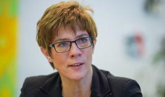 Die saarländische Ministerpräsidentin Annegret Kramp-Karrenbauer (CDU) will Wahlkampfauftritte türkischer Politiker verbieten. (Foto)