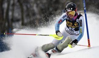 Am Wochenende steht in Aspen das Finale des alpinen Ski-Weltcups an. (Foto)