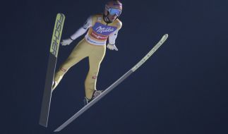 Skispringer Stefan Kraft aus Österreich. (Foto)