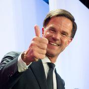 EU atmet auf! Rechtspopulist Wilders holt nur 13 Prozent (Foto)