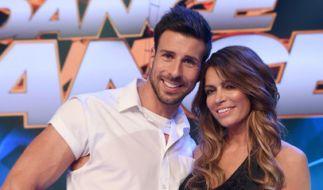 """Leonard Freier tanzte bei der Show """"Dance Dance Dance"""" mit Sabia Boulahrouz. (Foto)"""