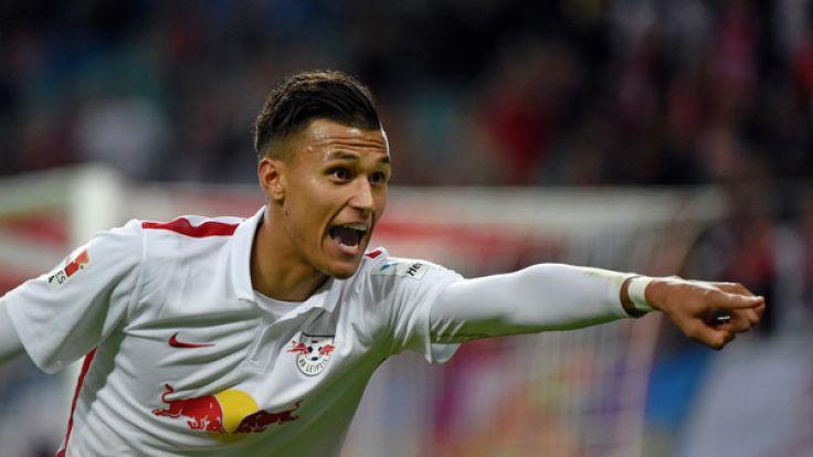 Davie Selke könnte am Samstag gegen seinen Ex-Verein Werder Bremen spielen. (Foto)
