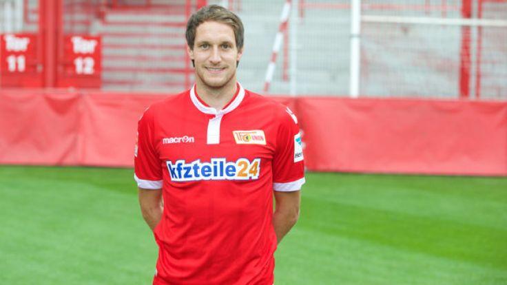 Stephan Fürstner hat für ein weiteres Jahr bei Union Berlin verlängert. (Foto)