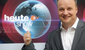 """Oliver Welke präsentiert wie gewohnt die """"heute show"""". (Foto)"""