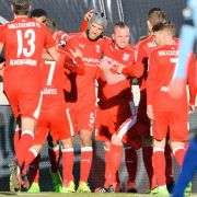 Zwickau und Rostock trennen sich 2:2 unentschieden (Foto)
