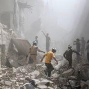 US-Militär bestreitet Luftangriff auf syrische Moschee (Foto)